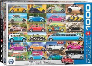 Παζλ VW Beetle - Gone Places
