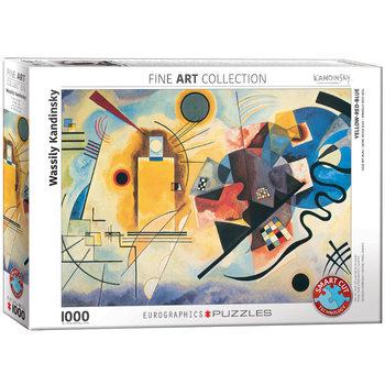 Παζλ Wassily Kandinsky - Yellow Red Blue