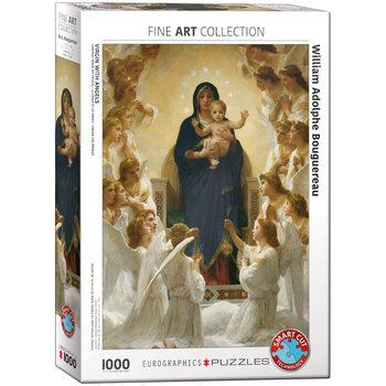 Παζλ William Adolphe Bouguereau - Virgin with Angels