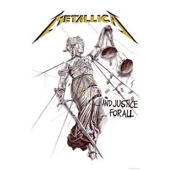 Αφίσες για υφάσματα Metallica - And Justice For All