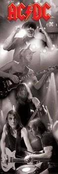 Αφίσα πόρτας AC/DC - live