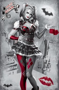 Αφίσα Batman Arkham Knight - Harley Quinn