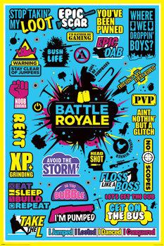Αφίσα Battle Royale - Infographic
