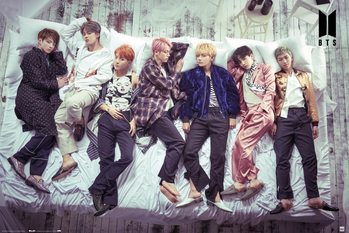 Αφίσα BTS - Bed