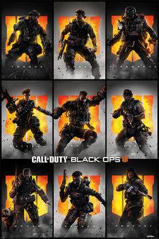 Αφίσα Call Of Duty – Black Ops 4 - Characters