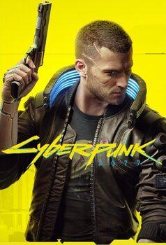 Αφίσα Cyberpunk 2077 - Ready Player V