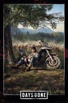 Αφίσα  Days Gone - Key Art