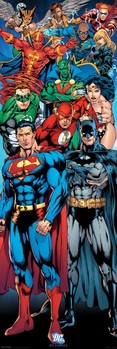 Αφίσα πόρτας DC COMICS - justice league of america