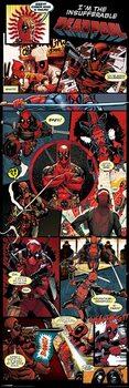 Αφίσα πόρτας Deadpool - Panels