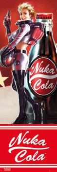 Αφίσα πόρτας  Fallout 4 - Nuka Cola