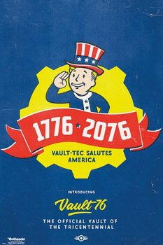 Αφίσα Fallout 76 - Tricentennial