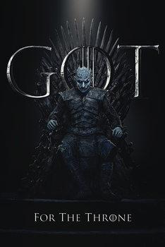 Αφίσα Game Of Thrones - Night King For The Throne
