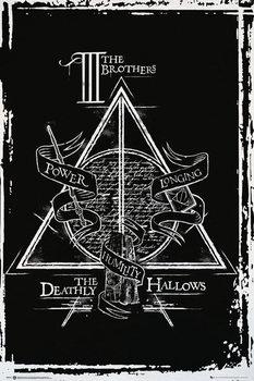 Αφίσα Harry Potter - Deathly Hallows Graphic
