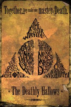 Αφίσα Harry Potter - Deathly Hallows