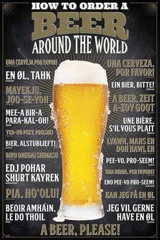 Αφίσα How To Order A Beer