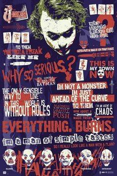 Αφίσα Joker - Quotes