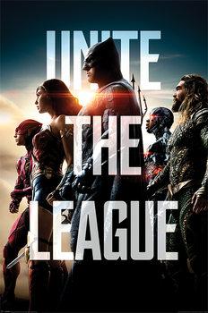 Αφίσα Justice League - Unite The League