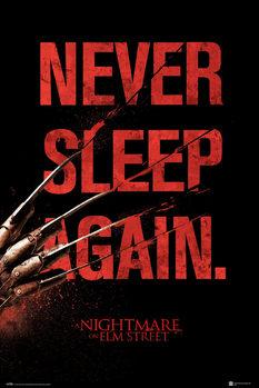 Αφίσα Nightmare On Elm Street - Never Sleep Again