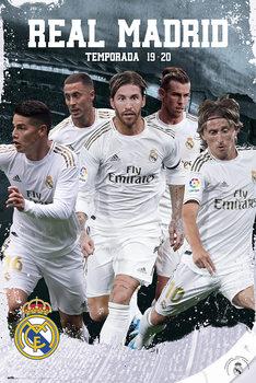 Αφίσα Real Madrid 2019/2020 - Team Action
