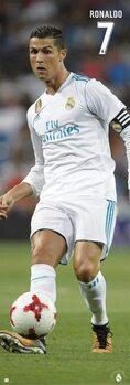Αφίσα πόρτας Real Madrid FC - Cristiano Ronaldo
