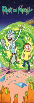 Αφίσα πόρτας Rick and Morty - Portal