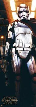 Αφίσα πόρτας Star Wars - Captain Phasma