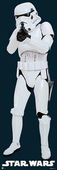 Αφίσα πόρτας Star Wars - Classic StormTrooper