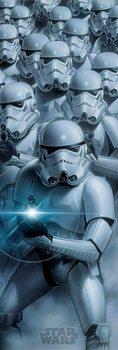 Αφίσα πόρτας Star Wars - Stormtroopers