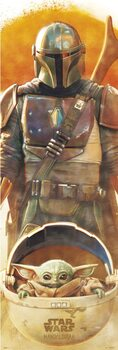 Αφίσα πόρτας Star Wars: The Mandalorian