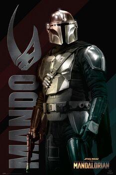 Αφίσα Star Wars: The Mandalorian - Mando