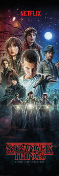 Αφίσα πόρτας Stranger Things - One Sheet