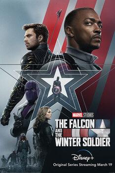 Αφίσα The Falcon and the Winter Soldier - Stars and Stripes