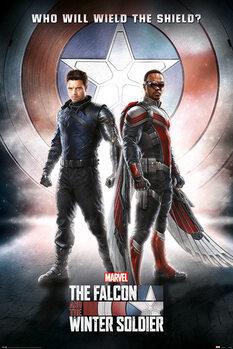 Αφίσα The Falcon and the Winter Soldier - Wield The Shield