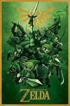 Αφίσα The Legend Of Zelda - Link