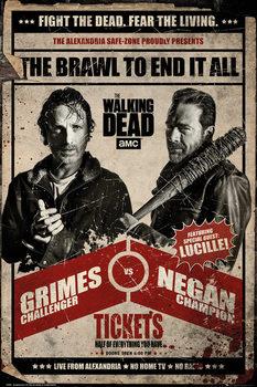 Αφίσα The Walking Dead - Fight