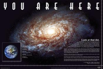 Αφίσα You Are Here - Space
