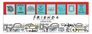 Γραφικές ύλες Friends - κολλώδεις σημειώσεις