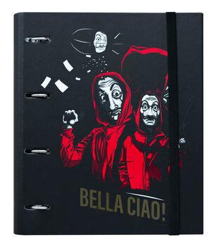 Γραφικές ύλες Money Heist (La Casa De Papel) A4