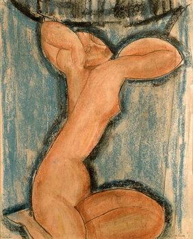 Εκτύπωση καμβά Caryatid, 1911