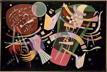 Εκτύπωση καμβά Composition X, 1939
