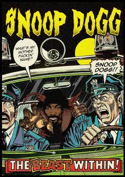 Εκτύπωση καμβά Dangerous Dogg