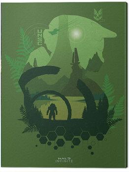 Εκτύπωση καμβά Halo: Infinite - Lakeside