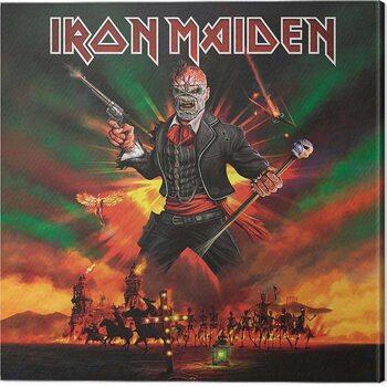Εκτύπωση καμβά Iron Maiden