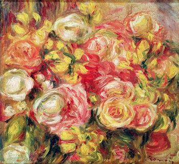Εκτύπωση καμβά Roses, 1915