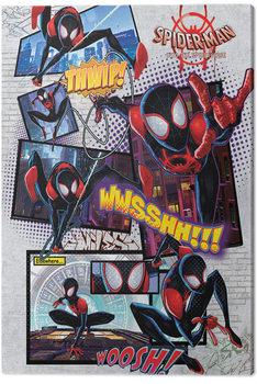 Εκτύπωση καμβά Spider-Man: Into The Spider-Verse - Comic