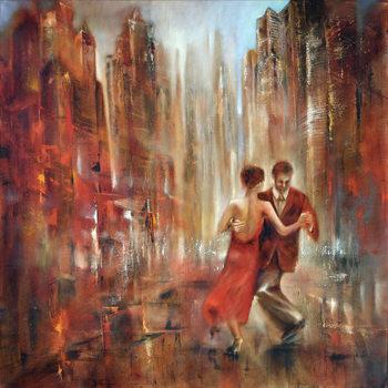 Εκτύπωση καμβά Tango