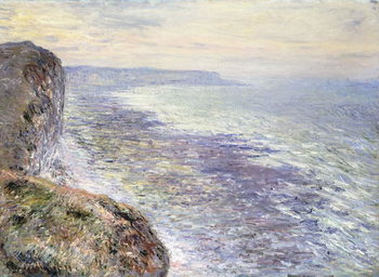 Εκτύπωση καμβά The Sea near Fecamp; Pres de Fecamp, Marine, 1881