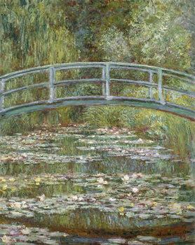 Εκτύπωση καμβά The Water-Lily Pond, 1899