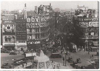 Εκτύπωση καμβά Time Life - Piccadilly Circus, London 1942