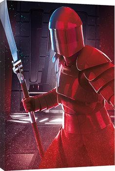 Εκτύπωση καμβά Star Wars: Die letzten Jedi- Elite Guard Blade